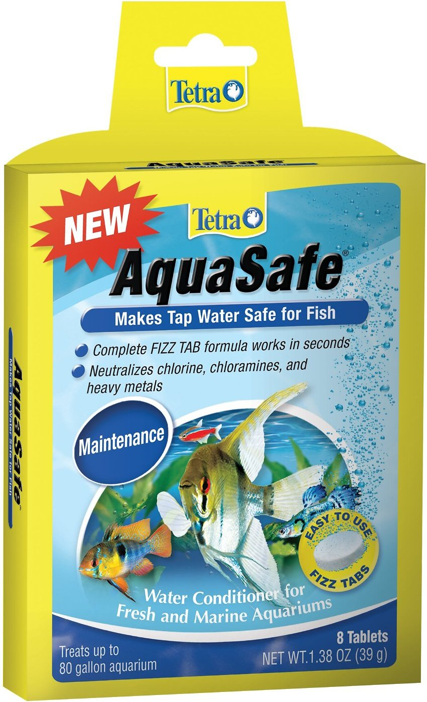 Tetra aquasafe fresh marine tap water conditioner 8 for How to make tap water safe for fish without conditioner