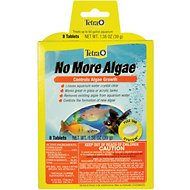 Tetra No More Algae Controls Algae Growth for Water Clarity, 8 count