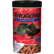 Tetra Cichlid Jumbo Sticks Fish Food, 7.40-oz jar