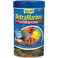 TetraMarine Saltwater Flakes Marine Fish Food, 1.84-oz jar