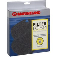 Marineland C-360 Canister Foam Filter Media, 2 count