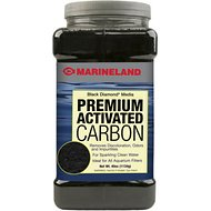 Marineland Black Diamond Activated Carbon Filter Media, 40-oz jar