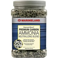 Marineland Diamond Blend Carbon Ammonia Neutralizing Carbon Filter Media, 50-oz jar