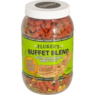 Fluker's Buffet Blend Veggie Variety Adult Bearded Dragon Food, 4.5-oz jar