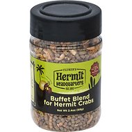 Fluker's Buffet Blend Hermit Crab Food, 2.4-oz jar