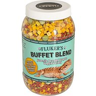 Fluker's Buffet Blend Veggie Variety Juvenile Bearded Dragon Food, 5-oz jar