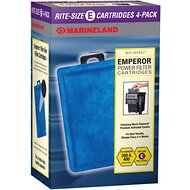 Marineland Bio-Wheel Emperor Rite-Size E Filter Cartridge, 4 count