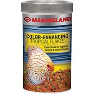 Marineland Color-Enhancing Tropical Flakes Fish Food, 7.76-oz jar