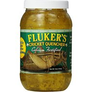 Fluker's Cricket Quencher Calcium Fortified Reptile Supplement, 16-oz jar