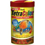 Tetra Color Tropical Flakes Fish Food, 0.42-oz jar