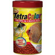 Tetra Color Tropical Granules Fish Food, 10.58-oz jar