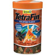 TetraFin Flakes Goldfish Food, 0.42-oz jar