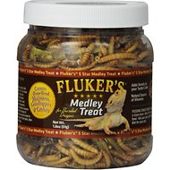 Fluker's 5 Star Medley Freeze-Dried Bearded Dragon Treats, 1.8-oz jar