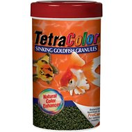 Tetra Color Sinking Granules Goldfish Food, 3.52-oz jar