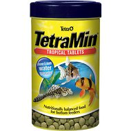 TetraMin Tropical Tablets Bottom Feeder Fish Food, 1.69-oz jar