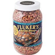 Fluker's Buffet Blend Aquatic Turtle Food, 7.5-oz jar