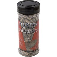Fluker's Freeze-Dried Crickets Reptile Treats, 1.2-oz jar