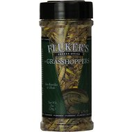 Fluker's Freeze-Dried Grasshoppers Reptile Treats, 1-oz jar