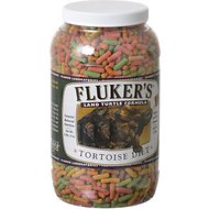 Fluker's Large Pellet Tortoise Diet Land Turtle Food, 3.25-lb jar