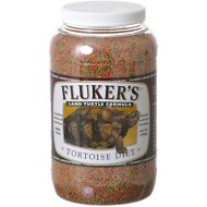 Fluker's Tortoise Diet Land Turtle Food, 3.8-lb jar