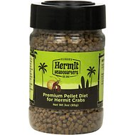 Fluker's Premium Pellet Diet Hermit Crab Food, 3-oz jar