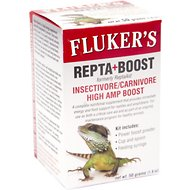 Fluker's Repta Boost Insectivore/Carnivore High Amp Boost Reptile Supplement, 1.8-oz