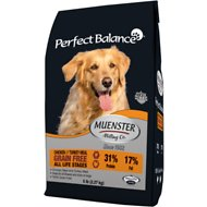 Muenster Perfect Balance Grain-Free Chicken & Turkey Meal All Life Stages Dry Dog Food, 5-lb bag