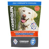 Nutramax Cosequin (DS) Plus MSM Soft Chews Joint Health Dog Supplement, 120-count