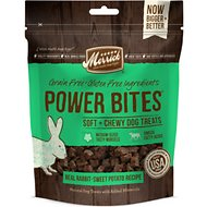 Merrick Power Bites Real Rabbit + Sweet Potato Recipe Grain-Free Soft & Chewy Dog Treats, 6-oz bag