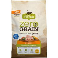 Rachael Ray Nutrish Zero Grain Chicken & Potato Recipe Grain-Free Natural Dry Cat Food, 12-lb bag