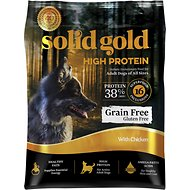 Solid Gold High Protein Grain-Free Chicken Recipe Adult Dry Dog Food, 22-lb bag