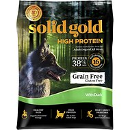 Solid Gold High Protein Grain-Free Duck Recipe Adult Dry Dog Food, 4-lb bag