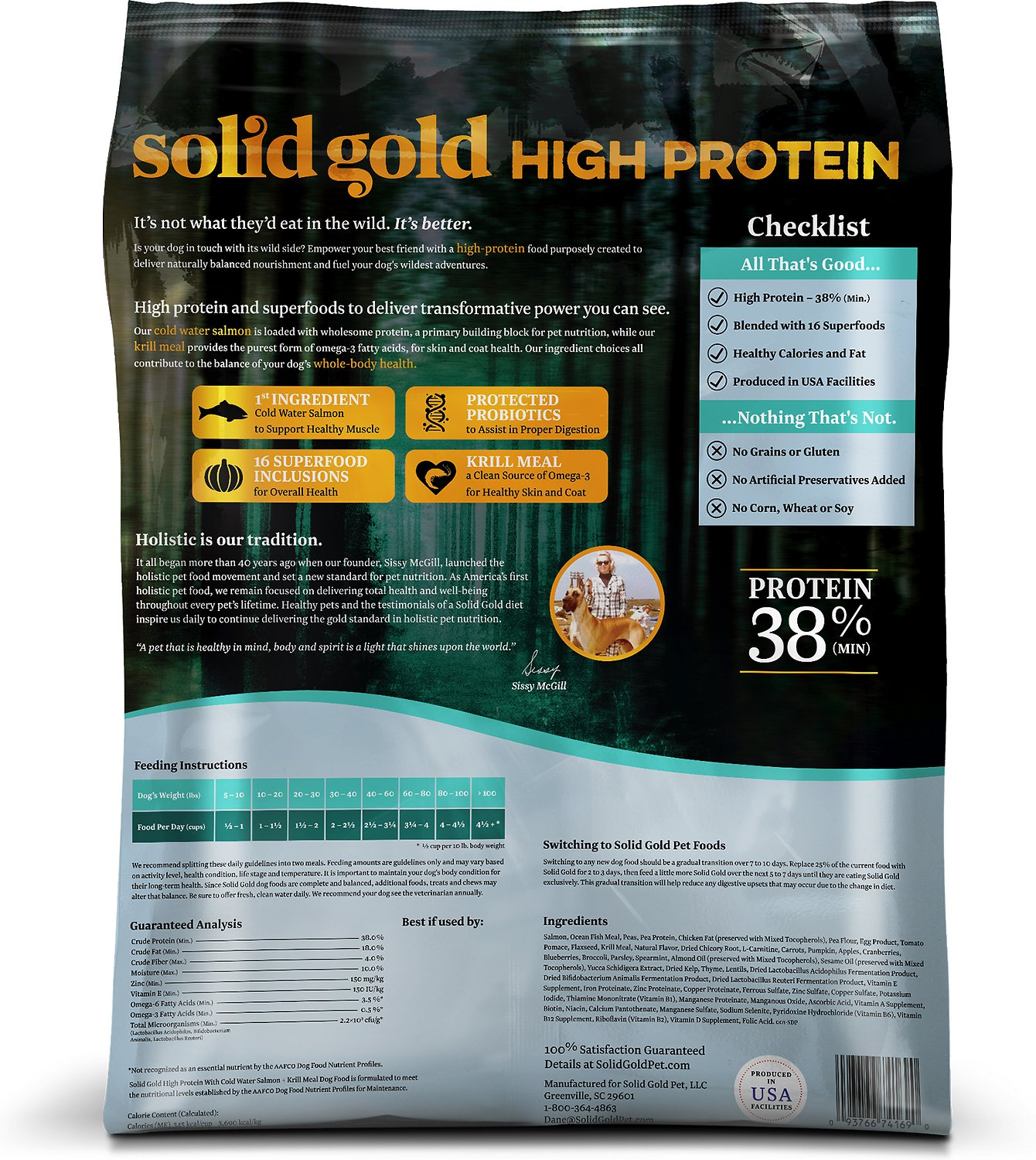 Solid Gold High Protein Cat Food Reviews