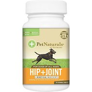 Pet Naturals of Vermont Hip + Joint Dog Supplement, 90 count