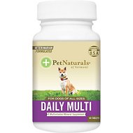 Pet Naturals of Vermont Daily Multivitamin Tablets Dog Supplement, 60 count