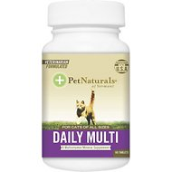 Pet Naturals of Vermont Daily Multivitamin Tablets Cat Supplement, 60 count