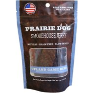 Prairie Dog Smokehouse Jerky Upland Game Bird Dog Treats, 4-oz-bag