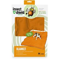 Insect Shield Bug Repellent Dog Blanket, Orange, Medium