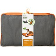 Insect Shield Bug Repellent Reversible Dog Bed, Orange/Slate, Large
