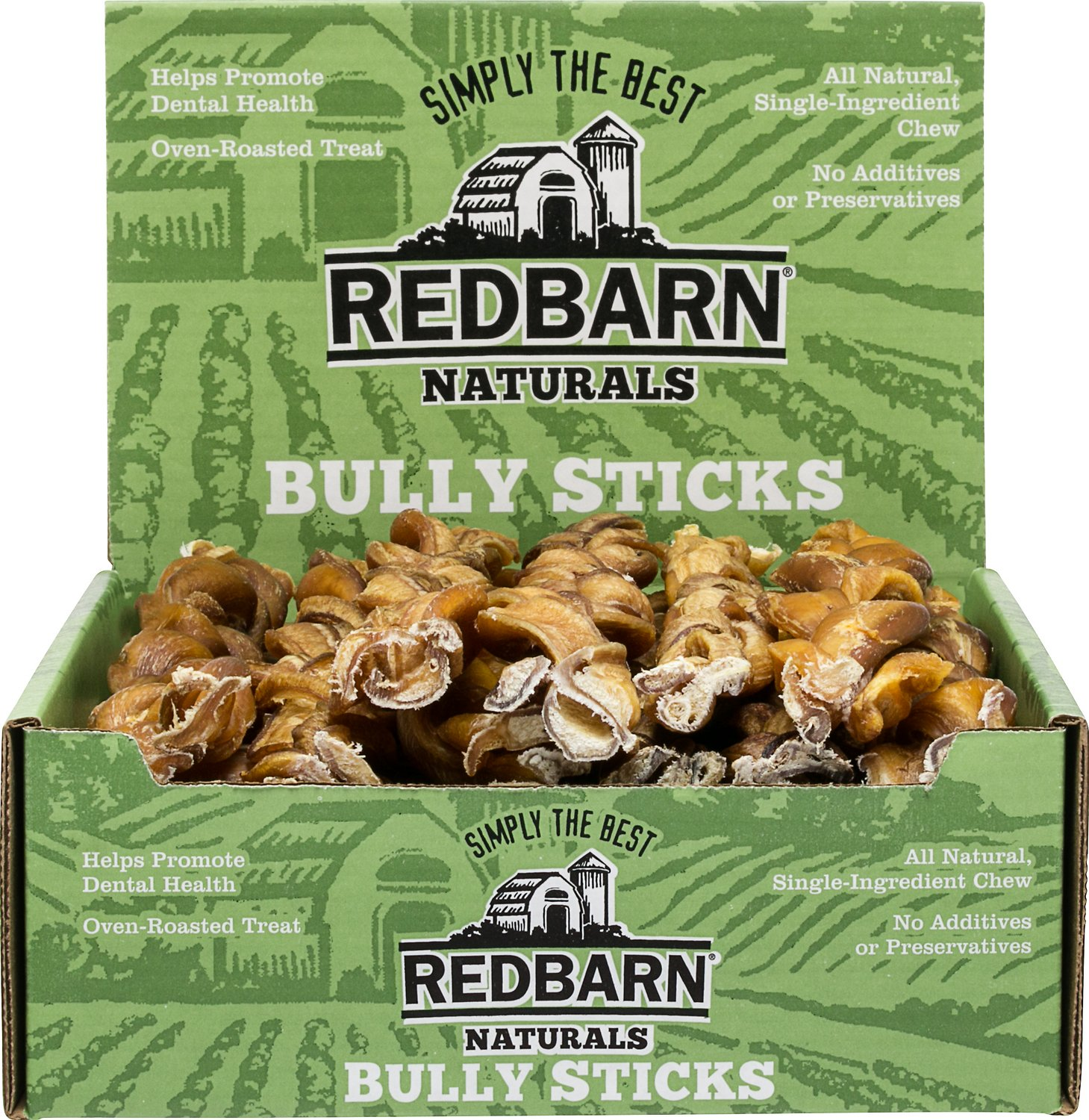 redbarn naturals braided bully sticks 12 dog treats case of 25. Black Bedroom Furniture Sets. Home Design Ideas