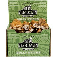 "Redbarn Naturals Braided Bully Sticks 7"" Dog Treats, Case of 20"