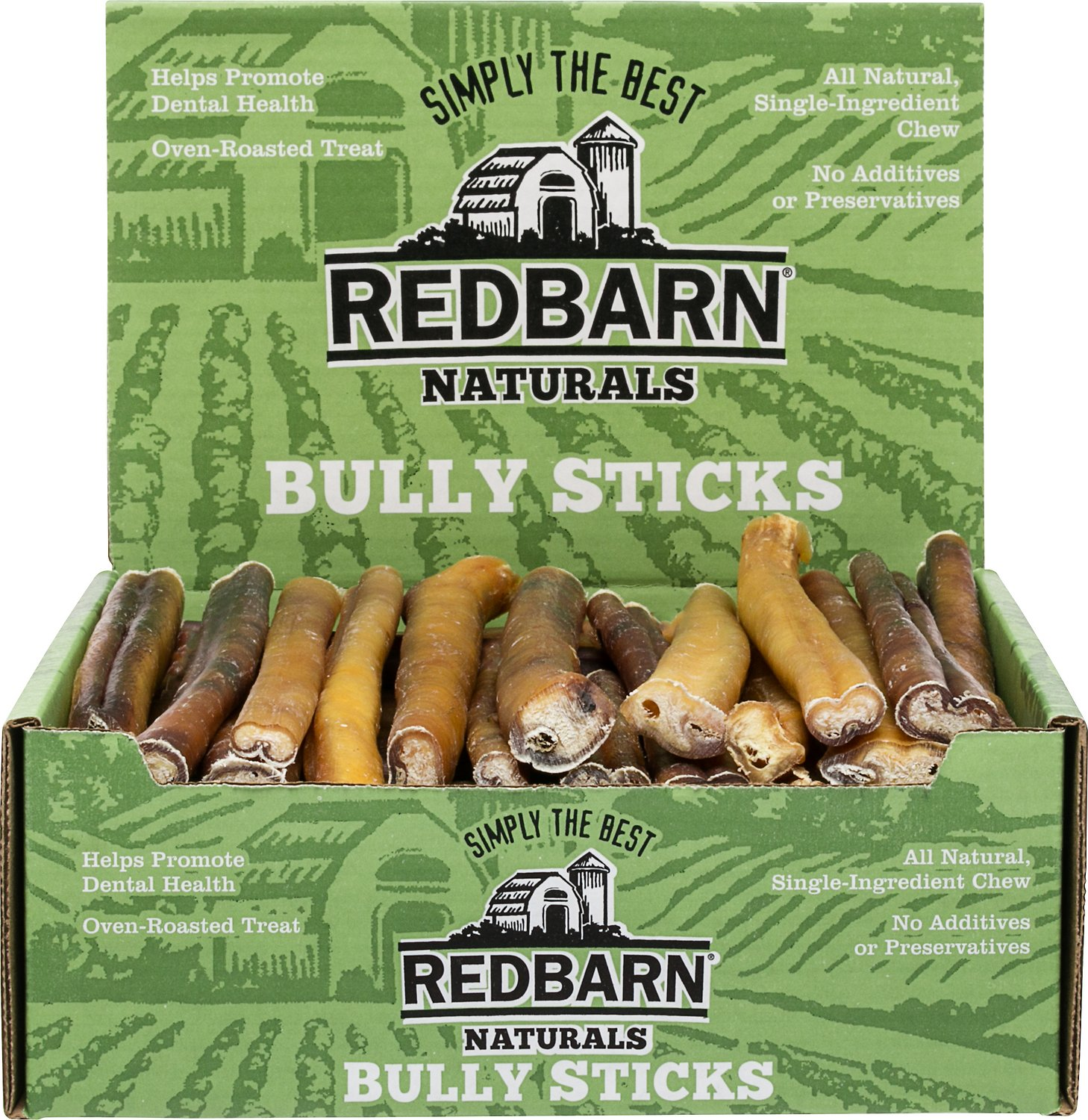 redbarn naturals bully stick 12 dog treat case of 35. Black Bedroom Furniture Sets. Home Design Ideas