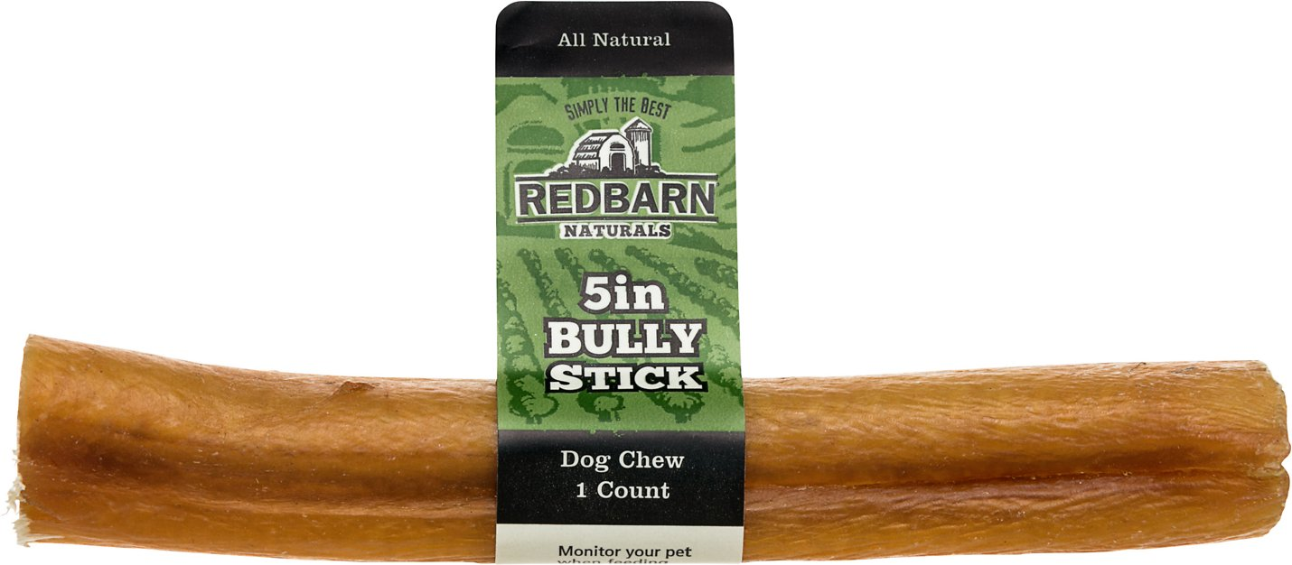 redbarn naturals bully stick 5 dog treat case of 50. Black Bedroom Furniture Sets. Home Design Ideas
