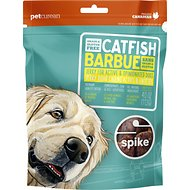 Spike Catfish Grain-Free Jerky Dog Treats, 4-oz bag