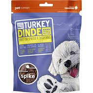 Spike Turkey Grain-Free Jerky Dog Treats, 4-oz bag