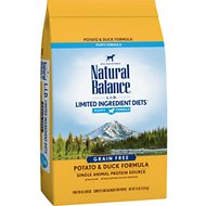 Natural Balance L.I.D. Limited Ingredient Diets Puppy Formula Potato & Duck Formula Grain-Free Dry Dog Food, 24-lb bag