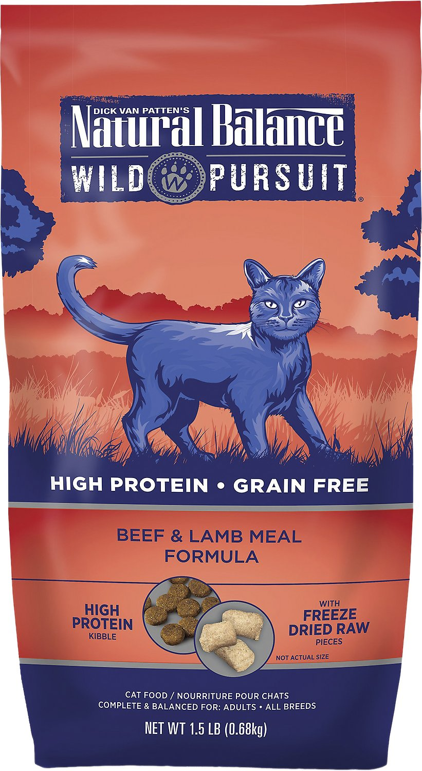 Natural Balance Wild Pursuit Dry Cat Food