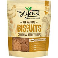 Purina Beyond Biscuits Chicken & Barley Recipe Dog Treats, 25-oz bag