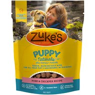 Zuke's Puppy Naturals Pork & Bacon Recipe Dog Treats, 5-oz bag