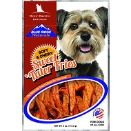 Blue Ridge Naturals Beef Broth Infused Sweet Tater Fries Dog Treats, 4-oz bag